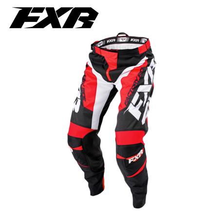 FXR Clutch MX Pant Black/Red/White