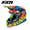 FXR Boost Revo MX Helmet Orange/Navy/Hi-Vis