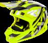 FXR Blade Carbon MX Helmet Hi-Vis/Silver