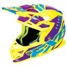 FXR Boost Revo MX Helmet Hi-Vis/Purple/Blue