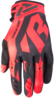 FXR FACTORY RIDE ADJUSTABLE MX GLOVE NUKE RED/BLACK