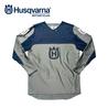 HUSQVARNA Railed Shirt Grey